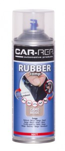 RUBBERcomp Camo beige matt 400ml